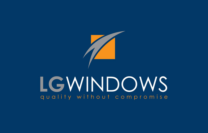 LG Windows logo brand design