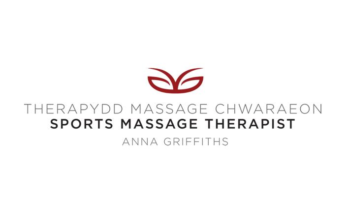 Anna Griffiths sports massage therapist logo design