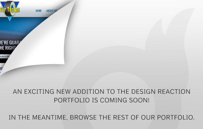 Tuf Treads CMS website design