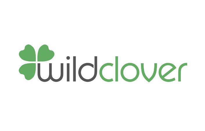 Wild Clover Organic Clothing minimalist logo design