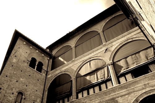 A building in Siena, Italy