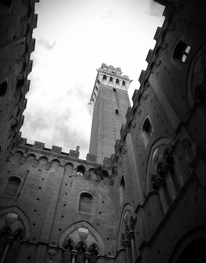 The Palazzo Pubblico in Siena, Italy