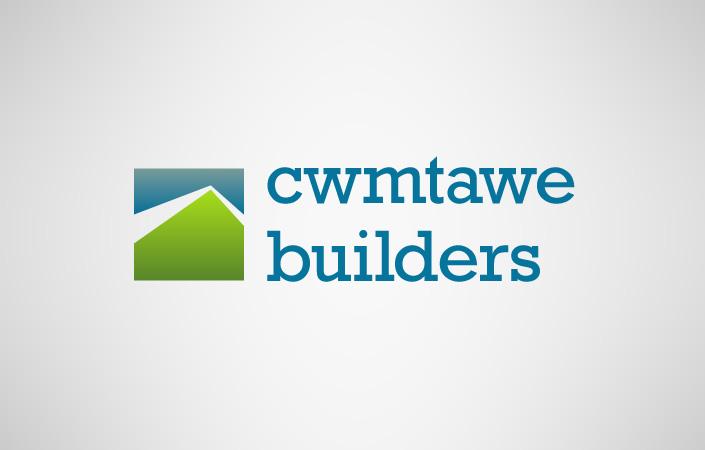 Cwmtawe Builders logo design