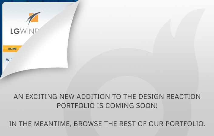 LG Windows CMS website design