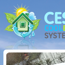 Cool Energy Systems website design