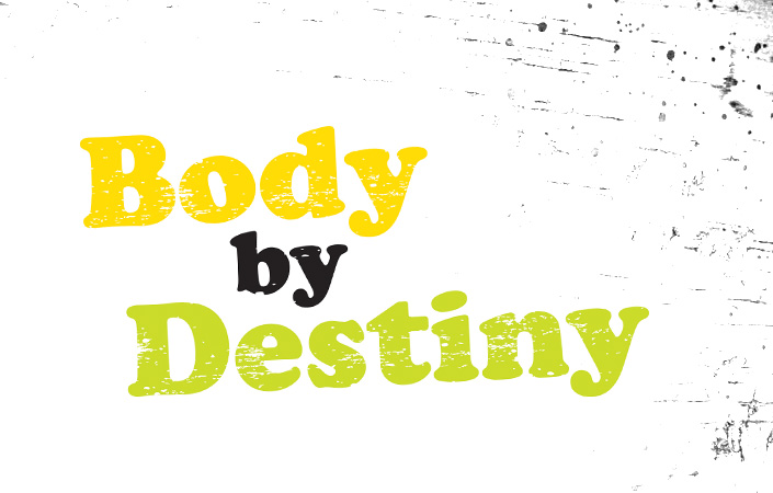 Body by Destiny personal trainer logo design