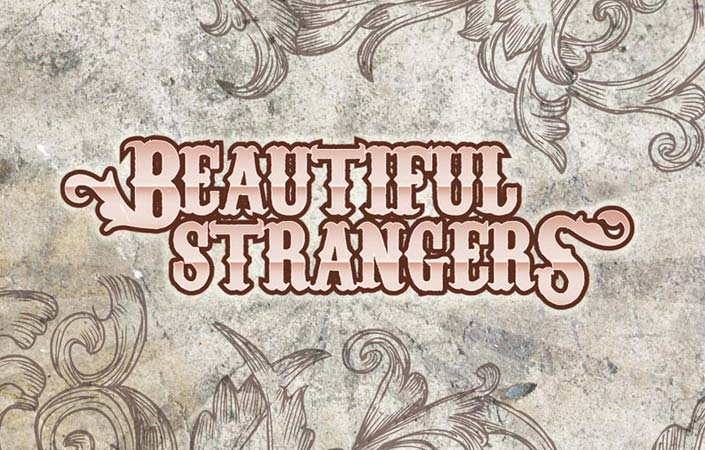 Beautiful Strangers rock band logo