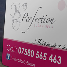 Perfection by Susan Car Magnets design and print