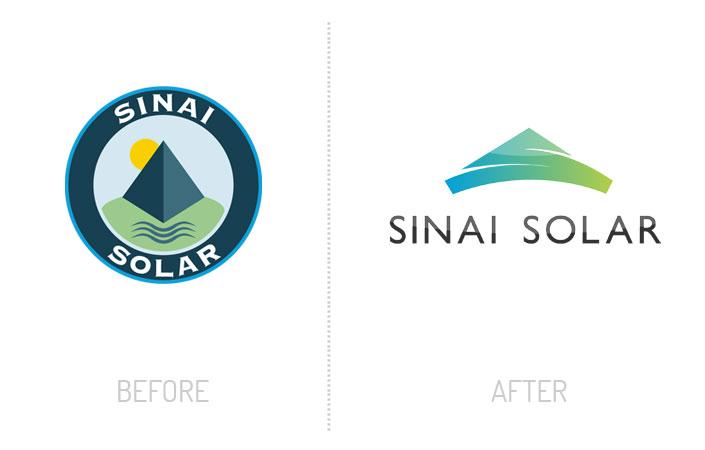 Sinai Solar logo re-design