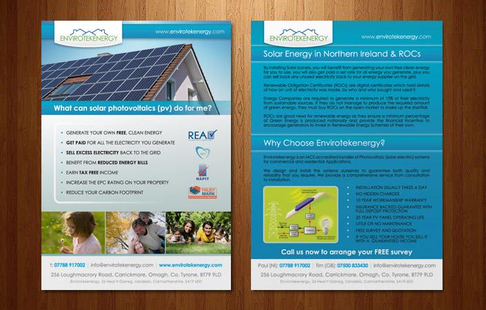 solar energy in Northern Ireland flyer
