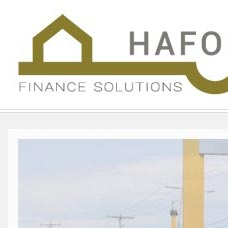 Hafod Finance CMS web design