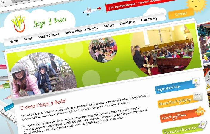 Ysgol Y Bedol web design